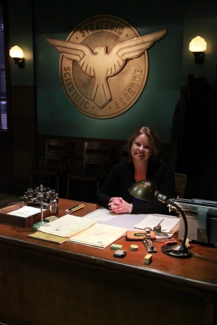 Exclusive Agent Carter Behind the Scenes Photos