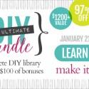 The Ultimate DIY/Craft Bundle is Here!