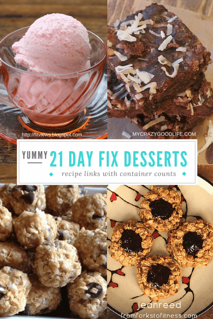 Clean Eating 21 Day Fix Dessert Recipes