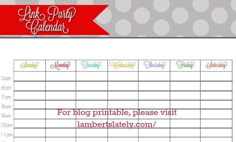 blog planner from LambertsLately.com