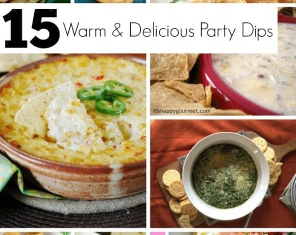 15 Warm & Delicious Party Dips