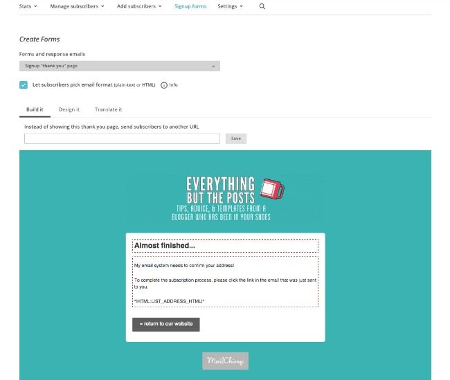 MailChimp Autoresponder