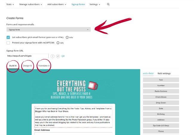 How to set up MailChimp autoresponder