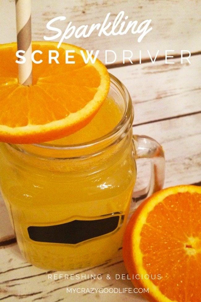 Sparkling Screwdriver Recipe