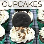 Thin Mint (or Grasshopper) Chocolate Cupcake Recipe