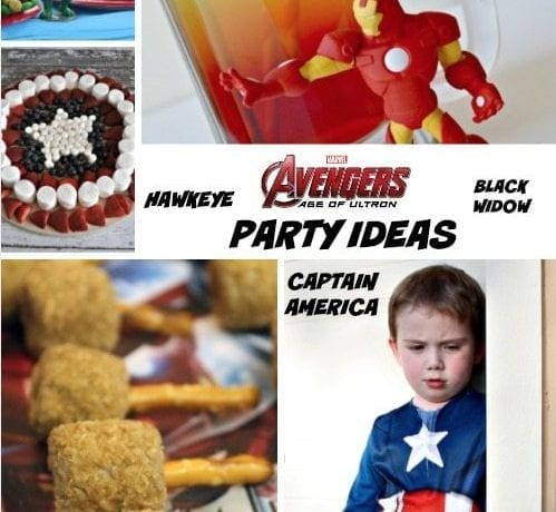 Avengers Party Ideas: Age of Ultron