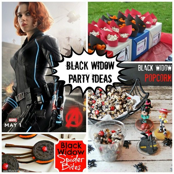 Black Widow party ideas
