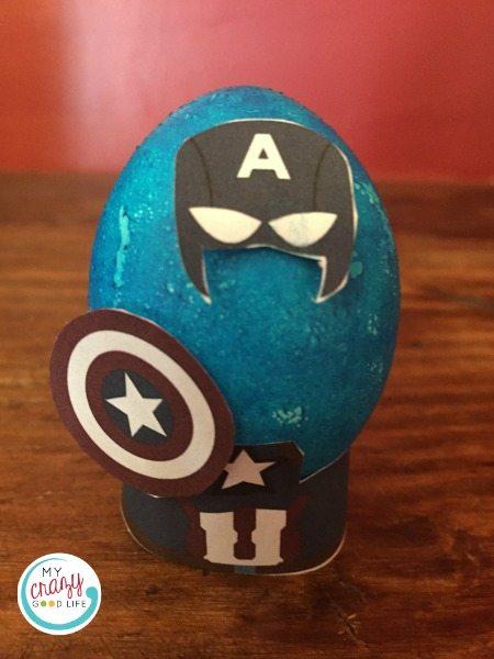 Avengers Easter Eggs: Captain America