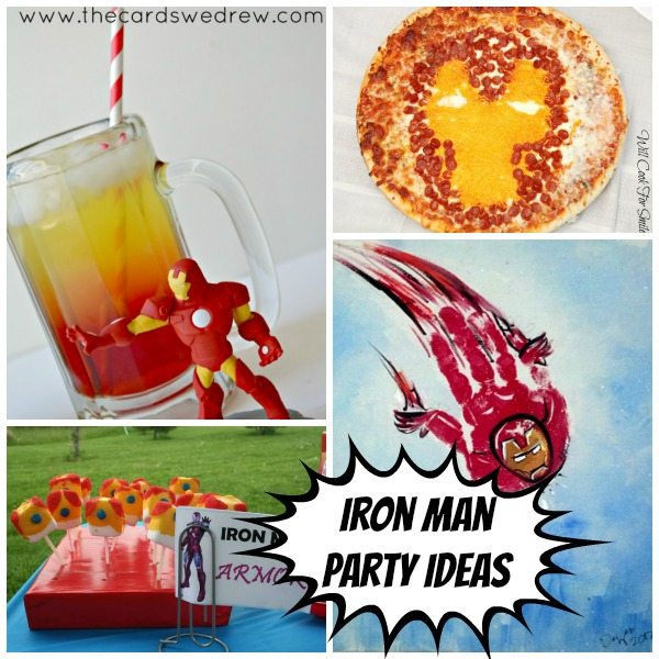 Age of Ultron party Ideas: Iron man