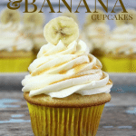 Salted Caramel and Banana Cupcake Recipe