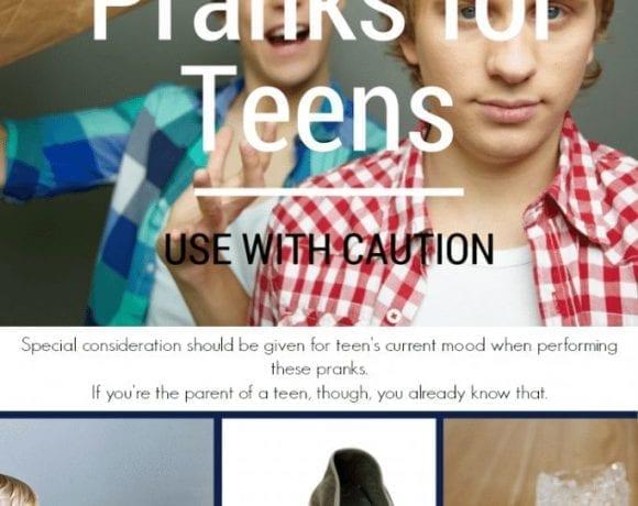 Fun Mom Alert: April Fool's Pranks for Teens