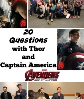 20 questions with Thor and Captain America