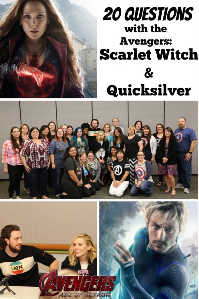 20 Questions with the Avengers: Scarlet Witch and Quicksilver