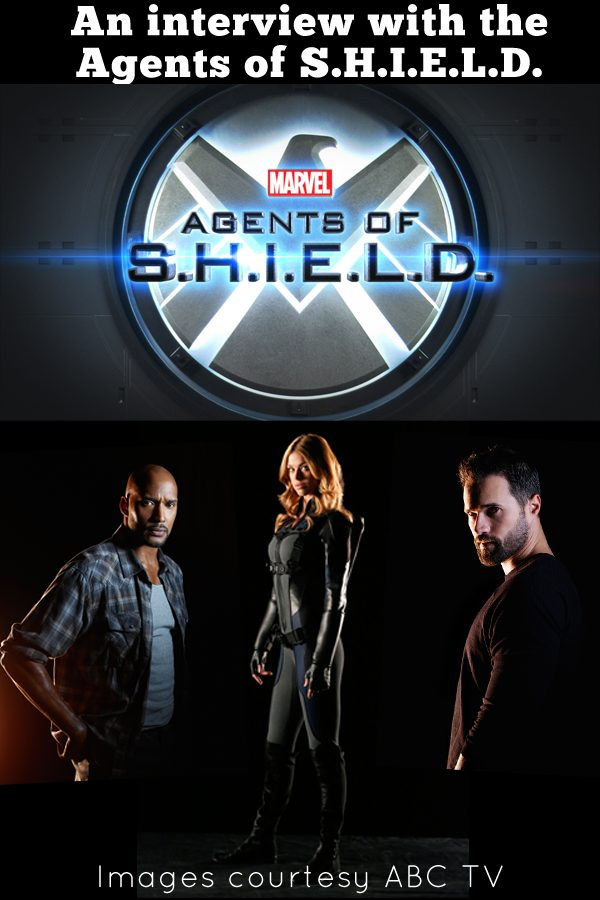 An interview with the Agents of S.H.I.E.L.D.