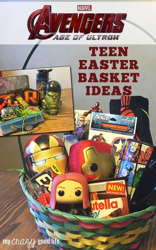 Avengers easter basket ideas for teens avengersevent avengers easter baskets for teens negle Image collections