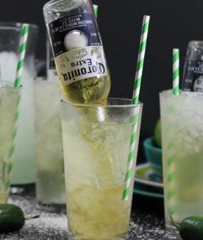 Recipe for Beer Margaritas