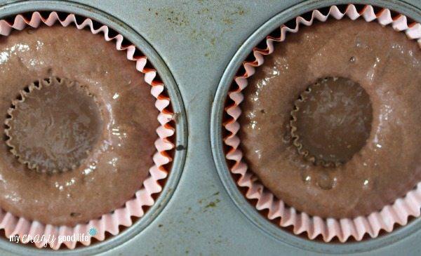 Peanut butter cup cupcake recipe
