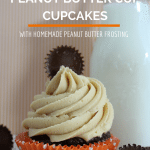 Chocolate Peanut Butter Cup Cupcake Recipe