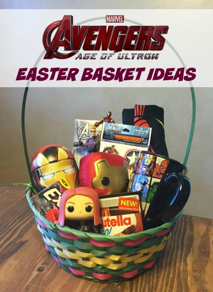 Avengers easter basket ideas for teens avengersevent avengers easter basket ideas negle Images