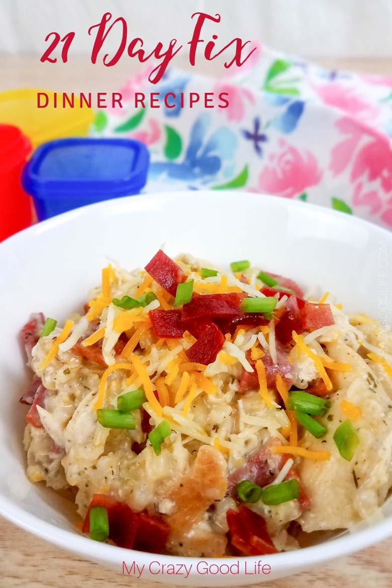 These 21 Day Fix Dinner Recipes are perfect for the entire family! Easy to cook, delicious, and healthy dinner recipes for the entire family. #21dayfix #beachbody #healthydinners #healthyrecipes #cleaneating #healthy