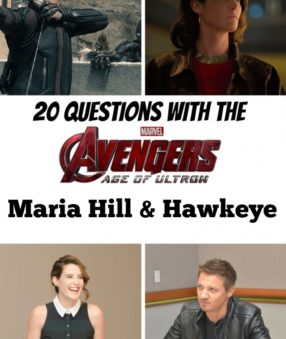 Avengers: Age of Ultron: Hill and Hawkeye interview