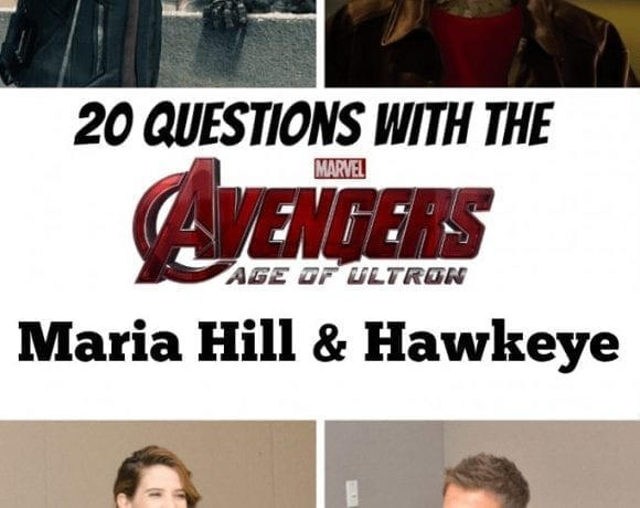 20 Questions with the Avengers: Agent Maria Hill and Hawkeye Interview