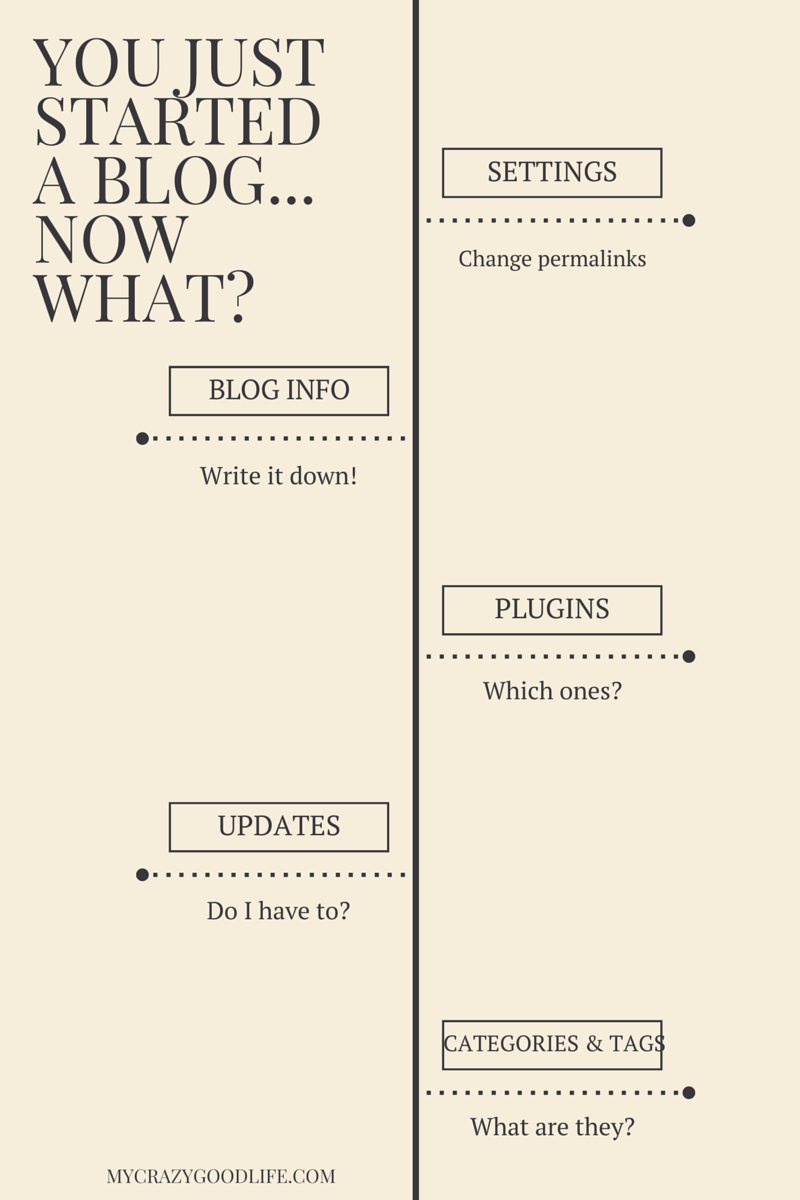 You just started a blog... now what?