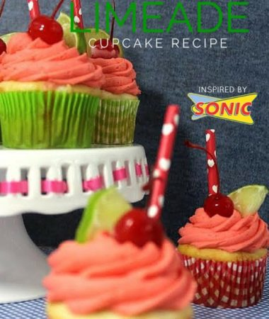 Cherry Limeade Cupcake Recipe (Inspired by Sonic)