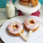 Doughnut Pops with Marshmallow Buttercream Frosting Recipe