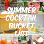 Summer Cocktail Bucket List