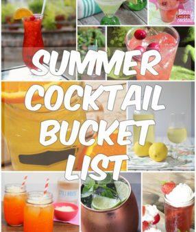Summer Cocktail Bucket List