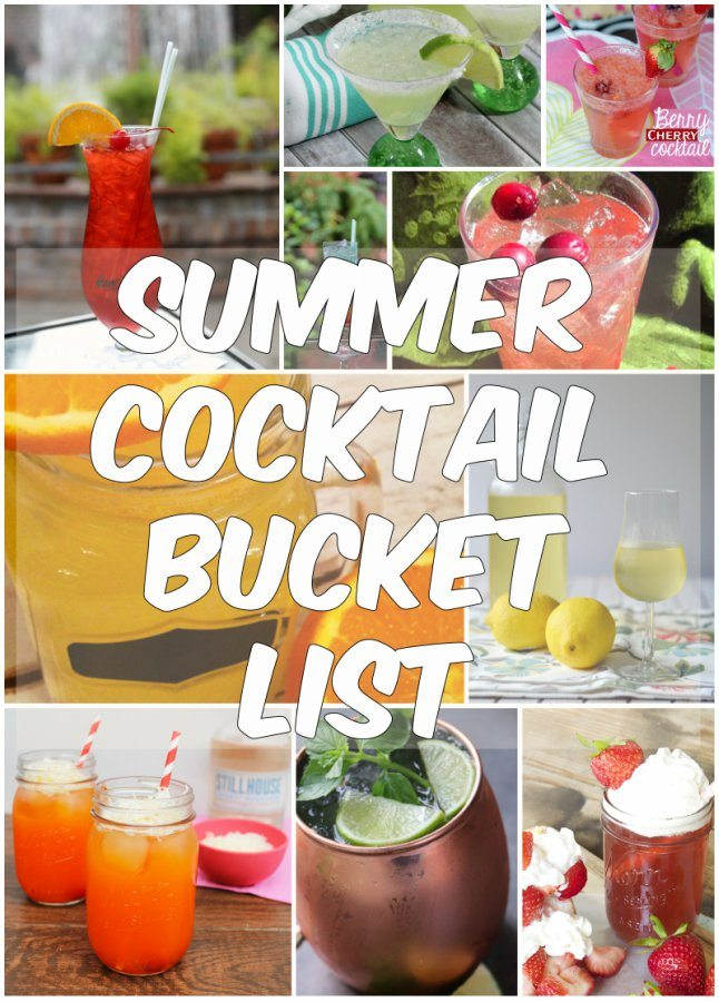 Summer Cocktail Bucket List: The best of the best summer cocktail recipes
