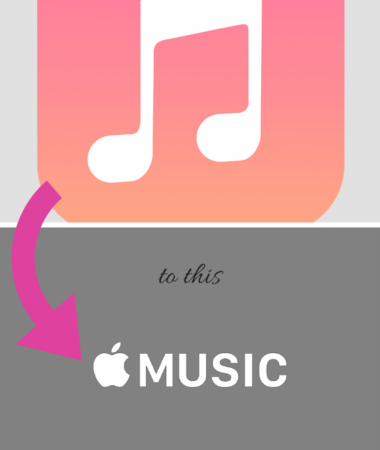 Switch from old Music to the new Apple Music Family Sharing app