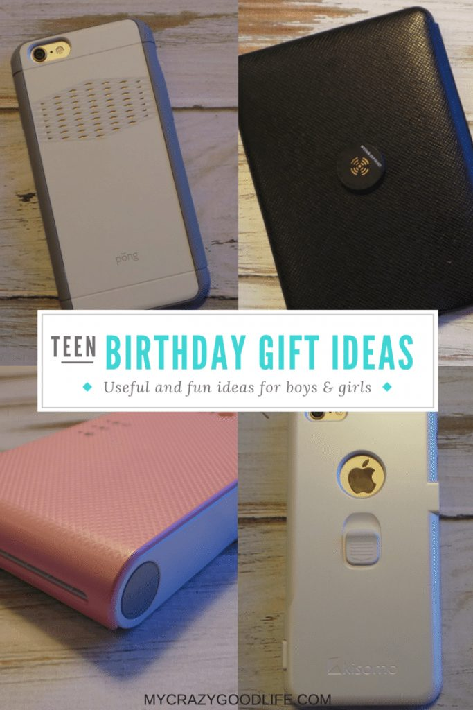 Fun And Useful Teen Birthday Present Ideas My Crazy Good Life