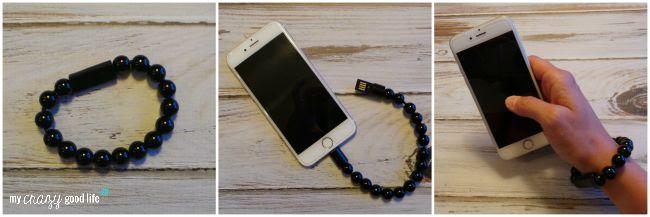 Teen gift guide: Olixar Charging Cable bracelet