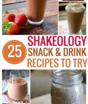 Delicious & Nutritious Shakeology Snack and Drink Recipes