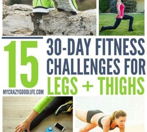 This list of options for a 30 day squat challenge can totally tone your legs and thighs! 30 day challenges are great for staying motivated and building muscle.