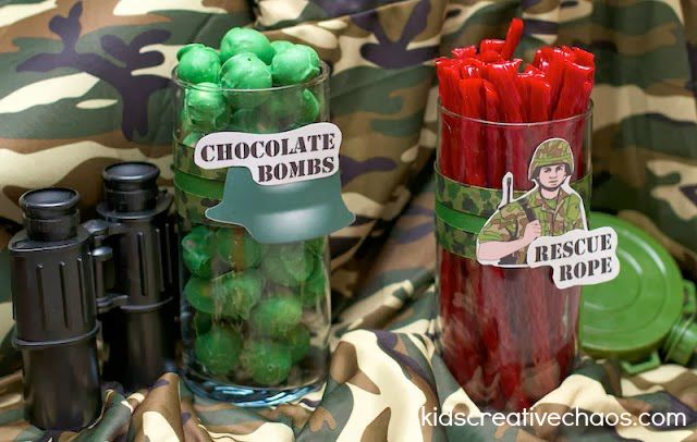 Army Birthday Party Ideas for Call of Duty (4)