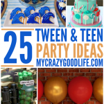 Tween and Teen Party Ideas