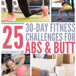 Abs and Butt | 30 Day Workout Challenges
