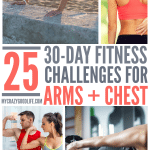 30 Day Chest and Arms Workout Challenges
