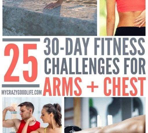 These 30 Day Chest and Arm Workout Challenges are great for getting into shape fast! Get fit with this list of 30 day challenges for your chest and arms muscles!