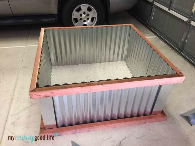 Diy Garden Boxes Corrugated Metal