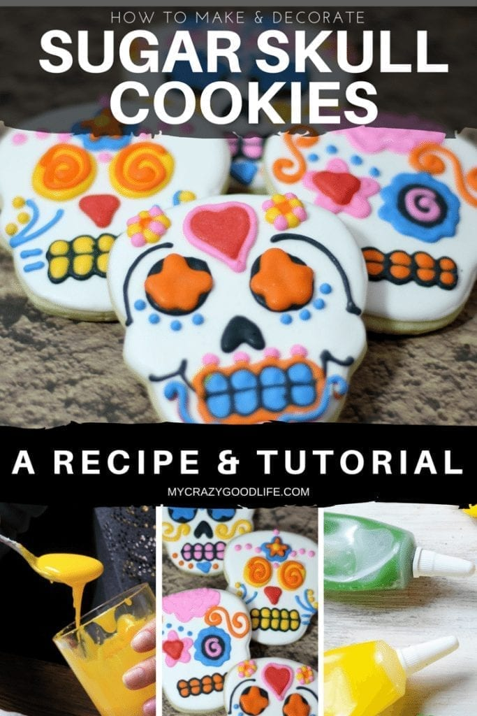 How To Make Sugar Skull Cookies