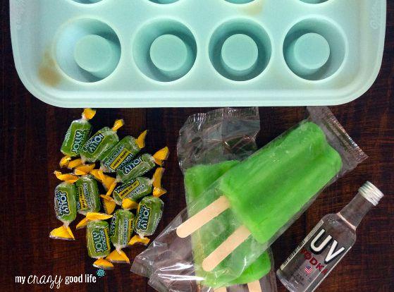 hard candy shot glass ingredients