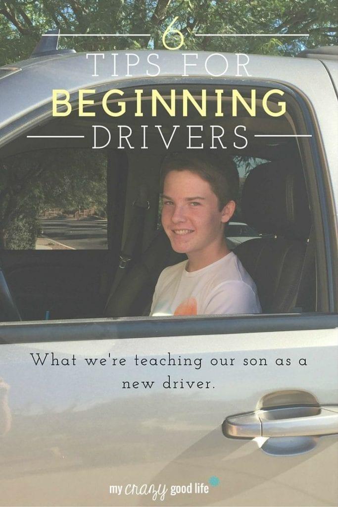 6 Tips for Beginning Drivers #MyTeenDriver