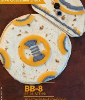 BB-8 Snack Quesadilla