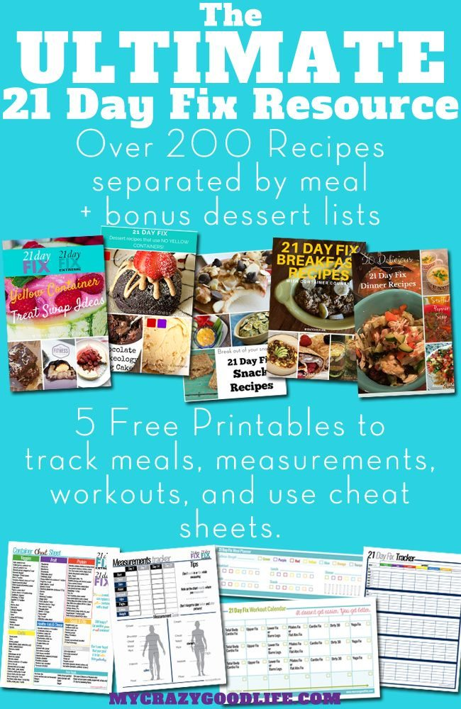 The ULTIMATE collection for your 21 Day Fix! Here you'll find free 21 Day Fix printables, recipes, and tips and tricks. Don't do this alone–we are here to help!