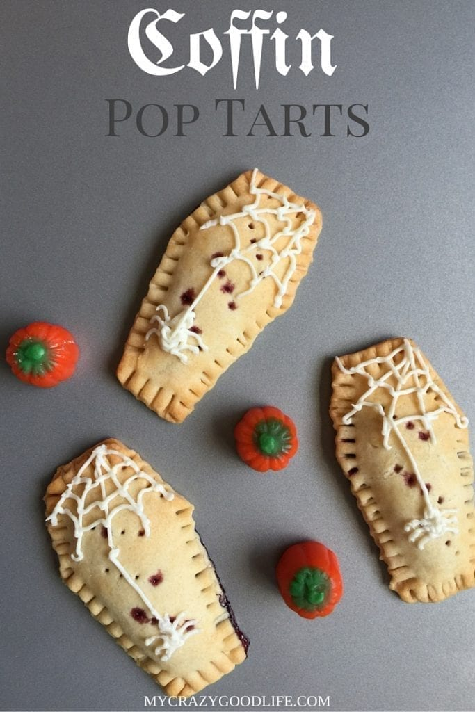 Coffin-Shaped Halloween Pop Tarts