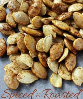 Spiced and Roasted Pumpkin Seed Recipe